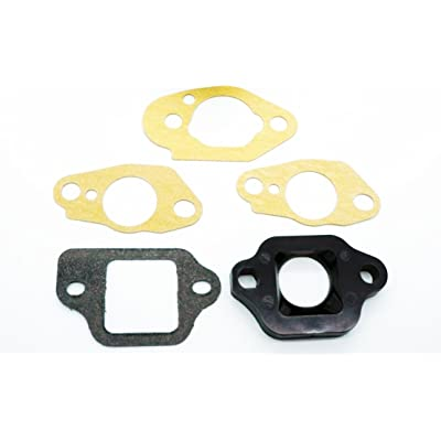 Honda Carburetor Insulator 16211-ZL8-000 and Gaskets 16221-883-800 (x2), 16228-ZL8-000, 16212-ZL8-000: Industrial & Scientific