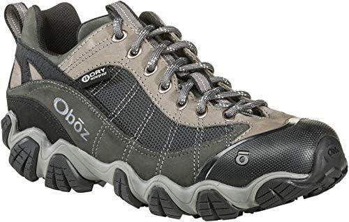 Oboz Firebrand II B-Dry Hiking Shoe – Men s Gray 11.5