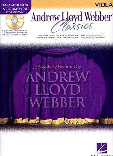 Classics Viola (Andrew Lloyd Webber Classics - Viola: Viola Play-Along Book/CD Pack (Hal Leonard Instrumental Play-Along))