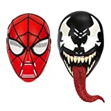 (US) Ultimate Spider-Man Spider-Man 2-in-1 Mask Talking Roleplay Toy [Spider-Man and Venom]