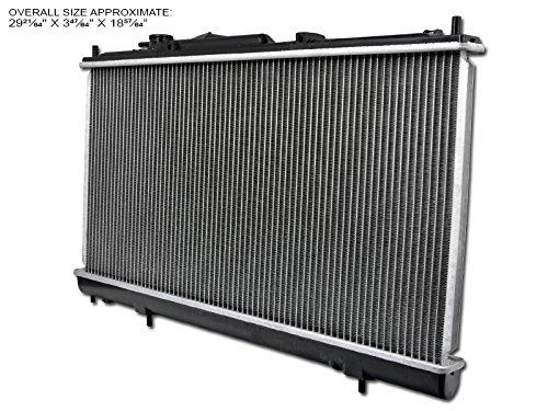 Velocity Racing Aluminum Radiator For 01-05 Sebring/Stratus/Eclipse 2D/2Dr 2.4L L4 Engine At/Mt Chrysler Sebring Koyo Radiator
