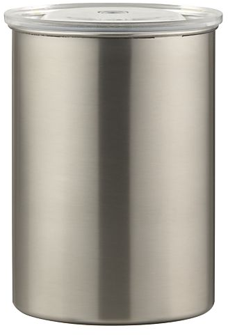 Airscape Coffee Canister in Coffee & Tea Accessories | Crate and Barrel
