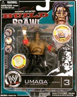 Jakks WWE Wrestling Build N' Brawl Series 3 Mini 4 Inch A...