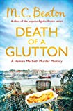 Front cover for the book Death of a Glutton by M. C. Beaton