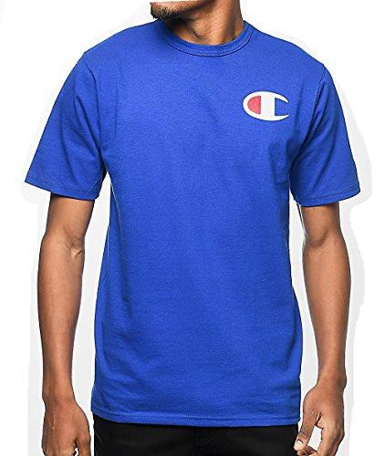 Champion Men's Big & Tall Graphic Logo T-Shirt (2XL, Royal)