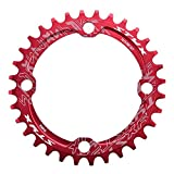 Vbestlife Engranaje Ancho angosto 104BCD 32/34/36 / 38T Single Chainring, Bicicleta de montaña Single Speed ​​Crank Chain Ring Repair Parts para Road Bike, Mountain Bike, BMX MTB Bike