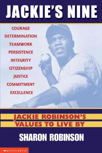 Jackie's Nine: Jackie Robinson's Values To Live By (Turtleback School & Library Binding Edition)