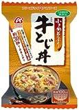 アマノフーズ 小さめどんぶり 牛とじ丼 22g×4個