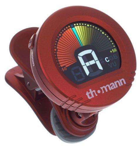 Accordatore per Chitarra e Basso Ctc-50 Rosso Thomann