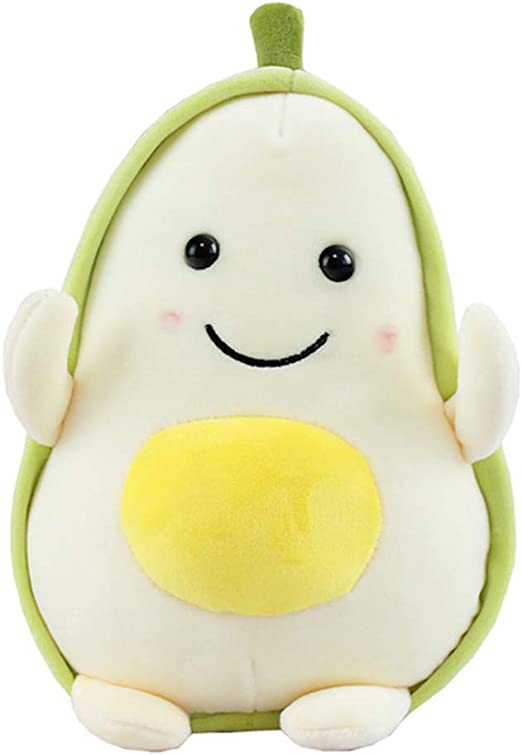 Cute Avocado Plush Pillow Fruits Toys Stuffed Dolls Cushion For Kids Children