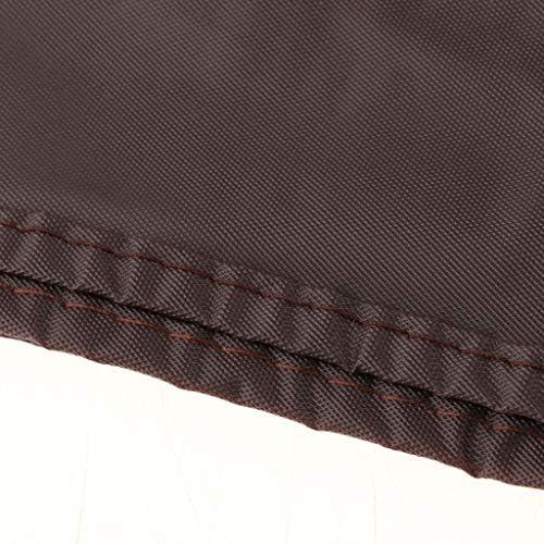 B Blesiya Copertura per Tavolo da Biliardo Impermeabile Ed Elastica per Protezione del Tavolo Completo