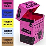 Deluxe Deckbox Multipack with Dividers - Set of 5 Customized Extra Large Deck Boxes for Trading Card Game & Collectible… 8