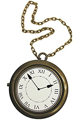 Forum Novelties Oversized Clock Necklace- by Forum Novelties