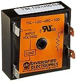 ATC TSL-120-ARC-100 Flasher Solid-State Output, 120 VAC, 50/60 Hz, External Resistor Adjustable Operation, 100 to 100 Adjustable Flash Rate