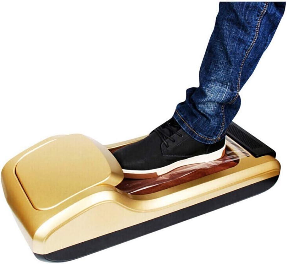 HUDEMR Tapa de la Zapata de la máquina Hogar Cubrezapatos Zapatos de la máquina portátil dispensador de la Cubierta de Arranque Perfecto for Médico Casa Comprar Shoe dispensador de la Cubierta