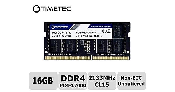 16GB Memory PC4-19200 SODIMM For MSI GE62 6QF Apache Pro DDR4-2400MHz 2x8GB