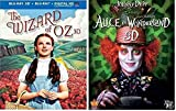 The Wizard of Oz & Alice in Wonderland - Blu-ray 3D, Judy Garland / Johnny Depp