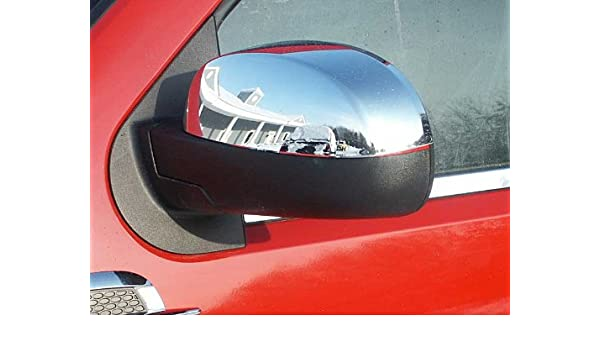 Lower Mirror Cover Set for 2007-2014 GMC Yukon Chrome