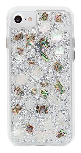 Case-Mate - iPhone 7 Case - Karat - Real Mother of Pearl - for iPhone 7 / 6s / 6 - Mother of Pearl