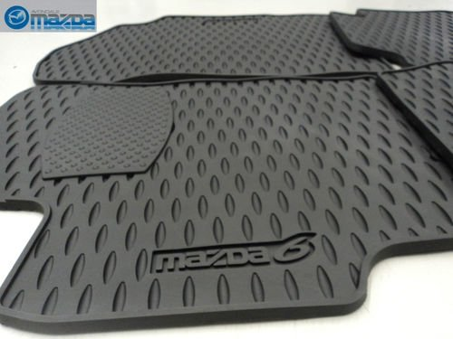 MAZDA 6 2003-2008 NEW OEM SET OF FOUR ALL WEATHER FLOOR MATS 0000-89-H36 by Mazda