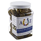 Horse Cookie Treat: Blond Bits Of Health Flavor by A to Z Horse Cookies, Low Carb Low Sugar Softer Treats, Organic, Great For All Horses And Excellent For Those With Metabolic Conditions, 2.5 lbs Jar