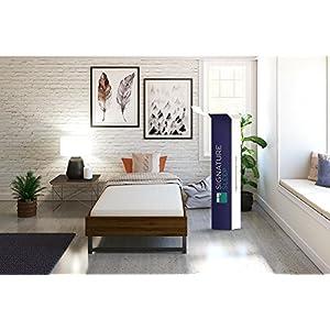 Signature Sleep Memoir 6 Inch Memory Foam Mattress with CertiPUR-US certified foam, Twin