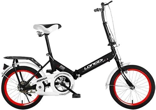 Oanzryybz 20 Pulgadas de Peso Ligero Mini Bicicleta Plegable ...