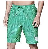 NIKE Men's Breaker 9 Inch Volley Swim Shorts (Large, Clear Emerald)