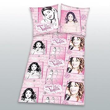 Herding 4628003050 Disneys Violetta Bettwäsche 2er Set 135x200