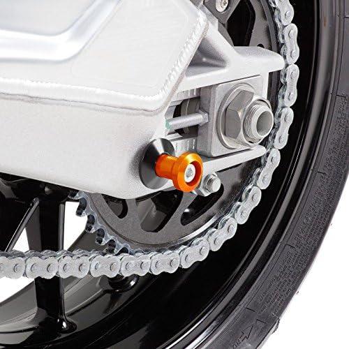 Motea Bobbin Spools for Kawasaki ER-6n Silverstone M10 orange
