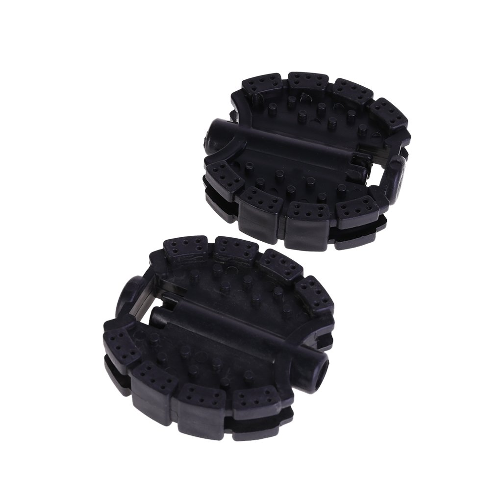 Forgun 1 Pair Bicycle Pedal Children Bike Tricycle Replacement Cycling Tools Non Slip (Black 1)