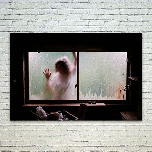 Westlake Art Window Person - 12x18 Poster Print