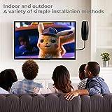 TV Antenna, 2020 Upgraded Outdoor Indoor TV