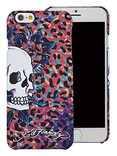 Ed Hardy Leopard (Ed Hardy Skull Color Leopard iPhone 6 Plus Case,)