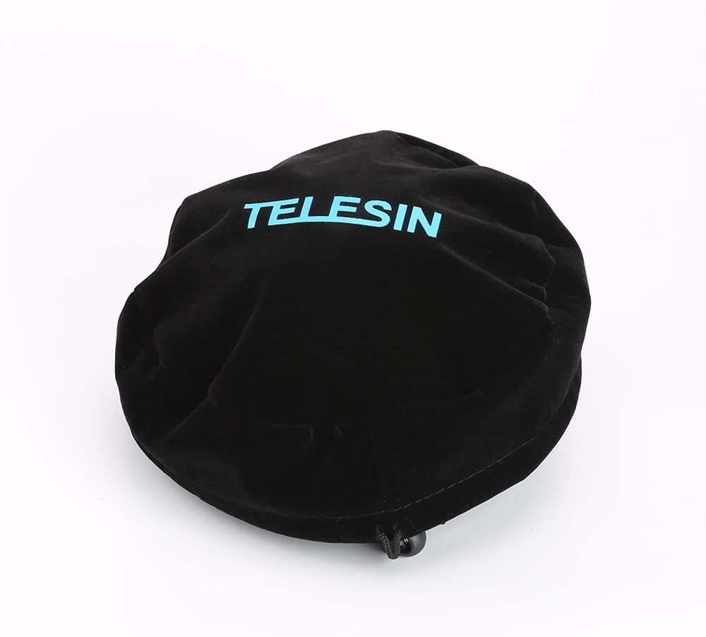 """TELESIN Protect Dome Bag Soft Cover for TELESIN 6"""" Dome Port for GoPro Hero 6/5/4/3, Session, Xiaomiyi 4K, EKEN, SJ6/SJ7 and Other 6 inch Dome for Action Cameras"""