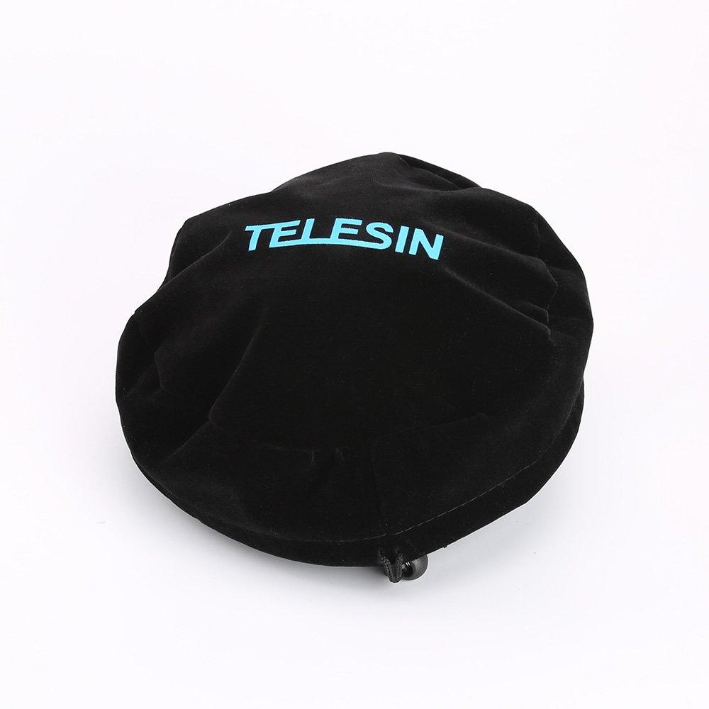 TELESIN 6in ドームポート用 保護カバーフード Gopro / Xiaomi Yi スポーツ カメラ用 B015FKLHF6 Dome Bag