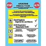 Precautions Label Airborne