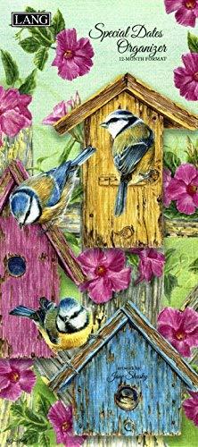 (Lang Birds in The Garden Special Dates Calendar Personal Organizer)