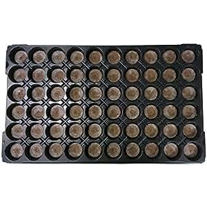 Elixi rGardens® bandeja germinadora precargada de 41mm, turba