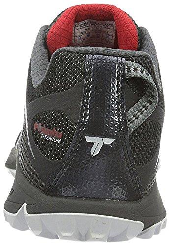 Columbia Conspiracy Titanium - Zapatos de Low Rise Senderismo Hombre Multicolor (Shark/Rocket)