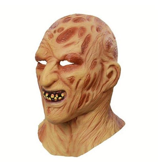 Halloween Mascara De Máscaras Cosplay Freddy Krueger Máscaras De ...