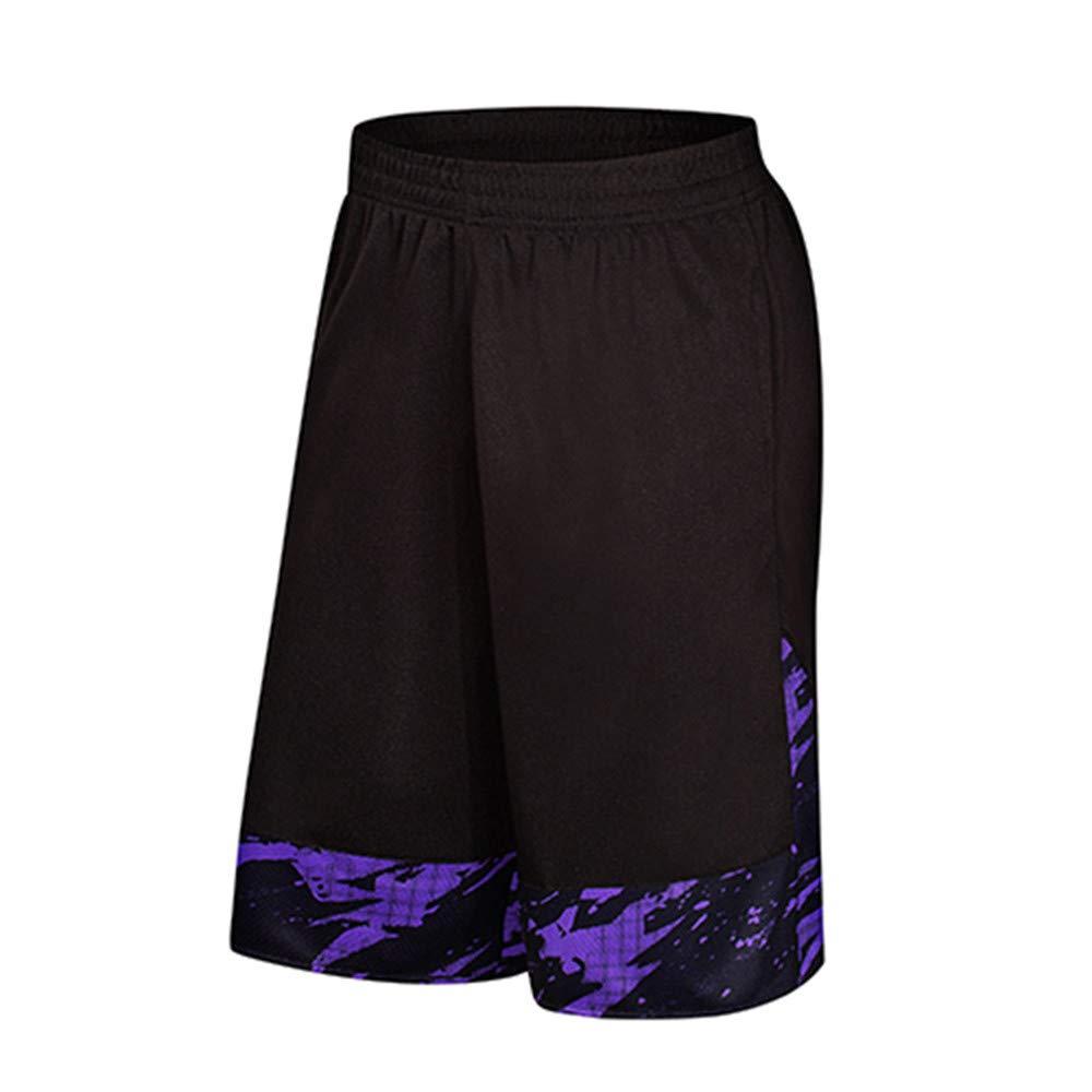 Molyveva Men Pants APPAREL メンズ B07GWRKPFK パープル 5XL