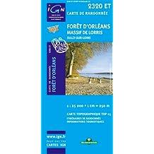 Foret d'Orleans / Massif de Lorris / Sully-sur-Loire 2009: IGN.2320ET