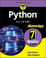Python All-in-One For Dummies Front Cover