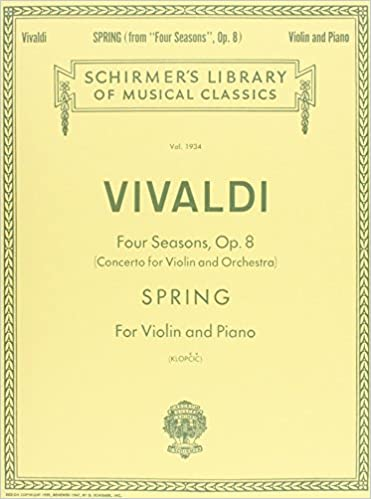 Spring: Violin and Piano