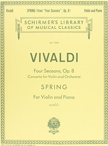 Vivaldi Music Sheets - 4