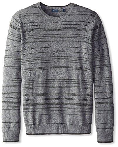 100%羊绒,手感柔和细腻!Thirty Five Kent 男士条纹毛衣