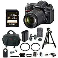 Nikon D7200 SLR with 18-140mm VR Lens (Black) and Sony 32GB SDHC + Two Tiffen Filters + Deluxe Accessory Kit Review Review Image