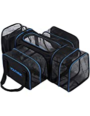 YOUTHINK Expandable Soft Airline Approved Travel Carriers for Cats Puppy Dog Pet