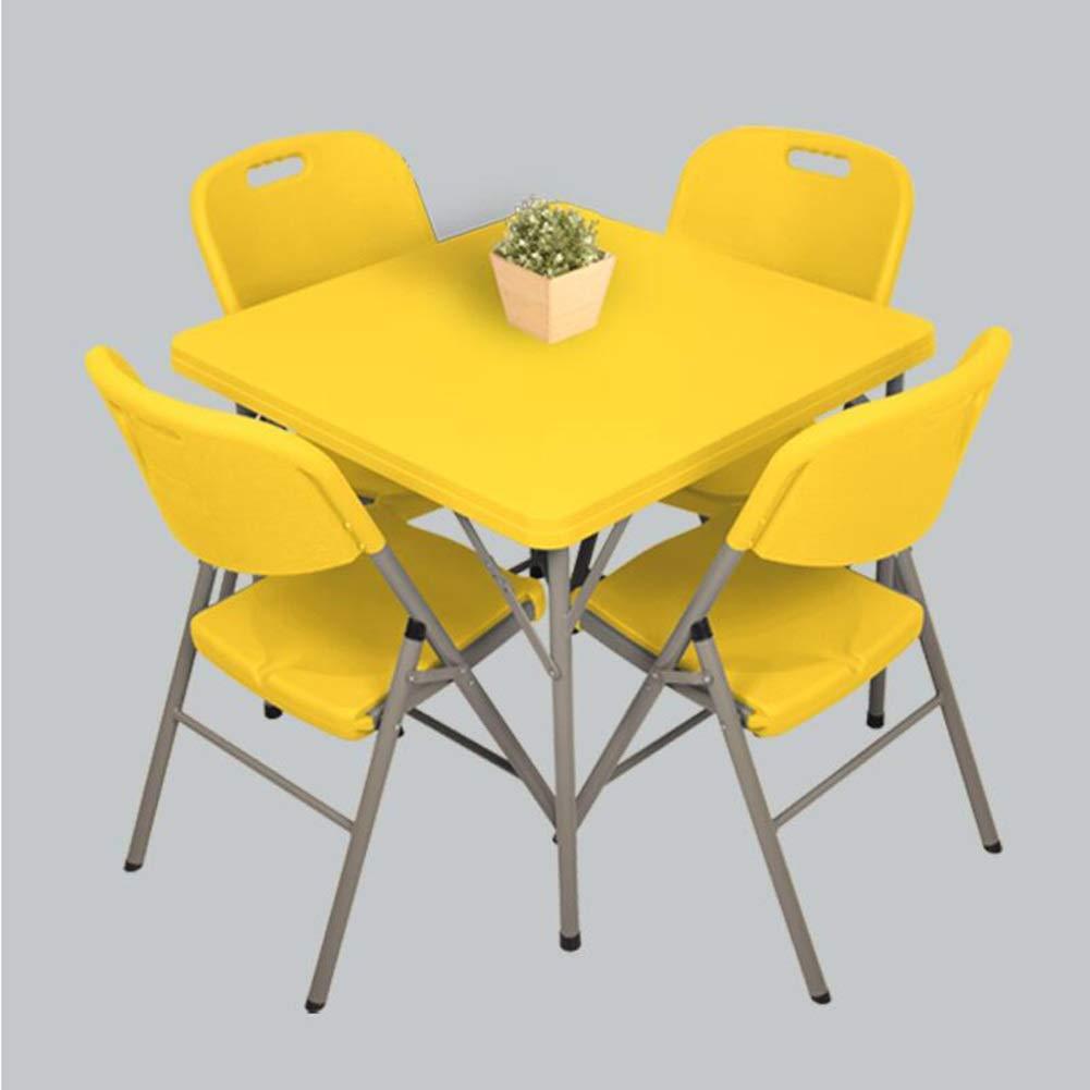 Amazon.com: Juego de 5 sillas plegables para comedor ...